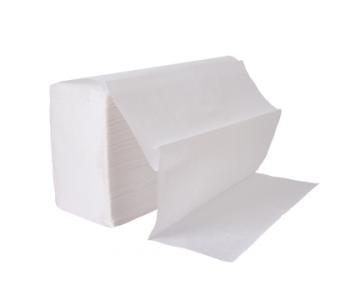 Dispenser paper napkins folded